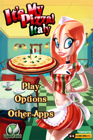 Screenshot It's My Pizza: Italy!