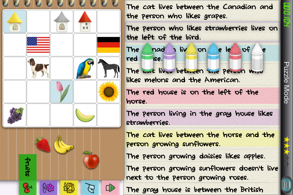 Screenshot Einstein Puzzle Classic